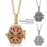 Cheap Pregnant Bola Ball Jewel Case Pendant & Chain Necklace Soft Chime Musical Bell Necklace (VA-058)