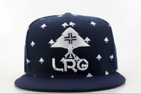 lrg - 2016 High Quality navy blue LRG Snapback Caps brand designer men women snap back hats fashion street hip hop hats QH