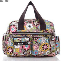 Wholesale 2015 handbags designers Women Bag Casual Bolsa Feminina Vintage Floral Printed Handbag Nylon Shoulder Bag Cross Body Messenger Handbag Totes