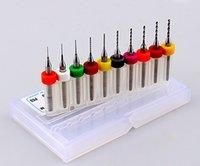 Wholesale MM Import Carbide PCB Drill Bits Print Circuit Board Mini CNC Drilling Bit Set Woodworking Tools