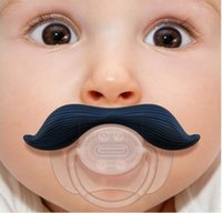 baby soothers dummies - 2014 Popular in United States beard pacifier funny pacifiers silicone baby mustache pacifier baby s dummy soothers cute teat