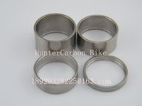 Wholesale Titanium Ti Bike Bicycle Washer Headset Spacer quot mm Size For Road Bike MTB Bicycle Cycling Bike Stem