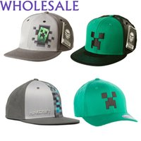 Wholesale quot NEW ARRIVALS quot Minecraft Hat Cap quot Great Quality quot quot Best Gifts and Collection quot IN STOCK FREE DHL