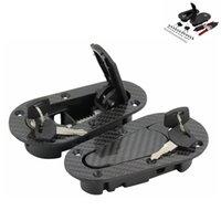 Wholesale Racing HOSO D1Generation Car Bonnet Universal Carbon style Hood Pin Lock Kit Piece Set