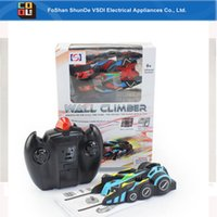 Wholesale Christmas hottest gift Remote control toy car can be both crawled on the wall and running on the floor
