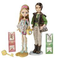 8-11 Years baby ella doll - Genuine Original Ever After High Ashlynn Ella Hunter Huntsman Doll Pack plastic toys Best gift for girl new