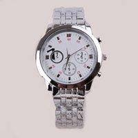 Dress Men's Not Specified 12pcs lot Classical Round Dial Quartz Wrist Watch Metal Steel Band Watch Gifts For Gentlemen SW270