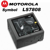 Wholesale Symbol LS7808 USB Barcode Scanner Omni directional Laser Multi Lines Scan Fixed Desktop In counter Bar Code Reader