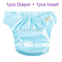 Wholesale Colors Waterproof Adult Cloth Diaper Adult Nappy Incontinence Diapers Pants Diaper Insert AD