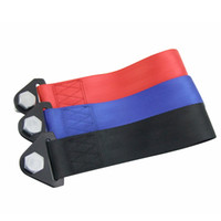 Wholesale High Strength Racing Tow Strap For Front Rear Bumper Towing Hook