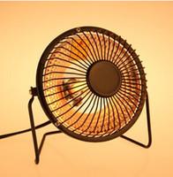 Wholesale New Portable Mini Electric heater desktop Energy saving warm space Heaters winter hand Warmer fan power w A3