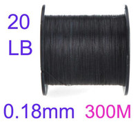 Wholesale 300M LB mm Strong PE Fishing Line Braided Strands Pesca Tackle