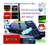 australia webcam - 2016 Newest Rockchip Qaud Core TV Box smart tv box gb ram gb flash mp webcam