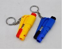 Wholesale automotive safety hammer mini car safety hammer broken window artifact Key chain type emergency lifesaving hammer random delivery