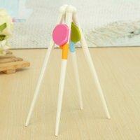 abs development - Baby Chopsticks ABS Resin Kids Children Cutlery Easy Use Helper Training Intelligence Development Early Learning