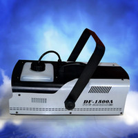 Wholesale 1500W Fog DJ Smoke Machine Stage Effect Fogger Machine Disco Home Party DJ Effect Remote Control Fog Machine