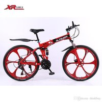 Wholesale Folding bicycles for Mens unisex children Altruism xirui X9 speed inch steel mountain bike bicycle downhill
