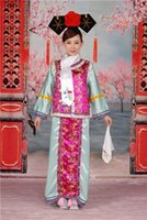 Wholesale Specials Princess costume costume costumes Fair Princess Swallow clothing Qing Dynasty costumes stage photo