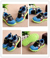 cartoon character - Sport Shoes Fashion Children Cartoon Character Printing and Contrast Color Causal Shoes New Kids Non slip and Breathable Leisure Shoes