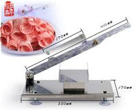 Wholesale Manual slicer series stainless steel multifunction home meat slicer meat cutting machine meat cutter