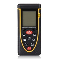 Wholesale 2015 New RZ70 m ft Laser distance meter with bubble level Rangefinder Range finder Tape measure