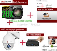Wholesale HIKVISION IP Camera Support Audio and Alarm X Zomm PTZ IP Auto Tracking high speed dome IP Camera