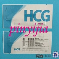 Wholesale By DHL CE And FDA Certificate Aproved Home Early Pregnancy Test Strips HCG Test Strip