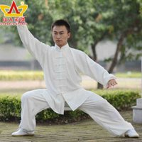 Wholesale tai chi clothing Magnolia Shanren sports martial arts clothing for men and women section factory explosion thickening
