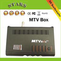 Boîte numérique MTV LCD Computer To VGA S-Vidéo Programme récepteur TV analogique Tuner LCD Moniteur PAL NTSC Pour les DVD / PDP / PS2, Dropshipping