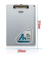 aluminum clip board - Aluminum Clip Board Metal File Folder Clipboard Plate Clip Carbon Plate a4 a5