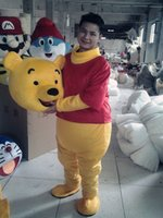 Wholesale Sell like hot cakes The bear Mascot Costume Fancy Dress Adult Size Halloween fashion2