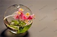 glass fish bowl - Crystal Glass Planter Flower Vase Fishbowl Fish Bowl Tank Terrarium Container Hydroponic Pot Home Wedding Party Decoration Gift