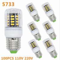 Lampe LED 100PCS SMD 5733 G9 Lampada LED E27 3W 30LED E12 Bombillas Ampoule LED E14 Projecteur GU10 Lamparas Bougie Lumière LED Luz B22