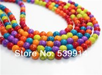 Wholesale MM MM MM MM Mix Color Turquoise Loose Stone Jewelry Beads for DIY Jewelry Finings