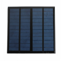 Wholesale New Hot sale Solar Panel Module for Light Battery Cell Phone Charger Portable V W DIY order lt no track