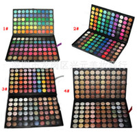 Cheap 120 Colors Professional Eyeshadow Palette Eye Shadow Make Up Fashion Makeup Color Cosmetics Palette (20 Pcs Lot) With DHL Ship