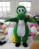 Wholesale Super Mario Plush Yoshi Mascot Costume Cute Adult Unisex Suit Custom Made