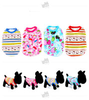 dog coats - 4 cute dog sweaters fashion Pet Dog Apparel Winter clothes Coat Merry Christmas Clothing Cloth Coat colors sizes