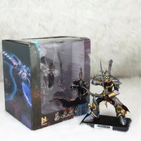 assassin pc - 18cm LOL Master Yi Yasuo the Unforgiven Lonia Sword Armour Warrior Assassin Anime PC Game Toys Model Action Figure