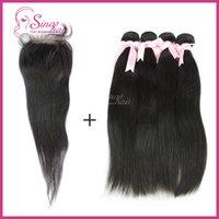 Cheap Brazilian straight hair Best lace closure