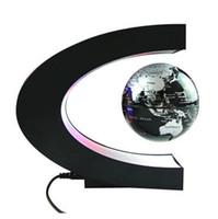 Salut-tech Electronic Power Wireless Magnetic Levitation flottant Globe LED Light 3 pouces antigravité globe magique cadeau / roman lumière