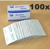 antibacterial cleansers - Alcohol Wipe Pad Medical Swab in Sachet L Antibacterial Tool Cleanser