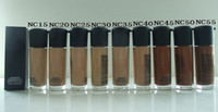 Wholesale Brand makeup liquid Foundation Matchmaster foundation SPF ML colors NC15 NC55