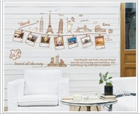 background frames for photos - Photo Picture Frame Wall Sticker Removable Wall Decor Global Travel Photo Frame Wall Sticker Background Wall Stick