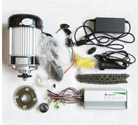 Wholesale 750W v brushless gear decelerating motor electric bicycle conversion kit light electric tricycle kit DIY kit