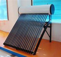 tubos de tubería de calor del calentador de agua solar, presión colector calentadores solares domésticos, 2016 nuevo sistema de productos solares