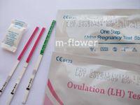 pregnancy test - FDA CE mIU ml sensitivity higher than miu ml Ovulation LH Pregnancy One Step Test Strip