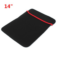 Wholesale Best Price Inch Black SBR Diving Materials Dustproof Anti static Laptop Carrying Sleeve Case Bag For Macbook Notebook