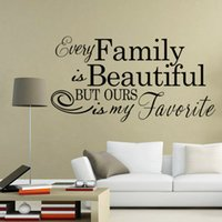 ebay - Ebay hot selling Wall Sticker Family Beautiful Vinyl Wall Decal Bedroom Home Decoration