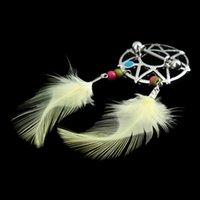 Wholesale New Fashion Yellow Feathers Dream Tribal Sun Style Nipple Ring Body Piercing Women Sexy Jewelry W2126